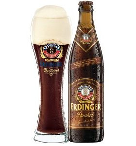 Erdinger Dark Wheat Beer