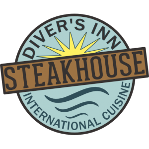 logo of diver's inn steakhouse krabi